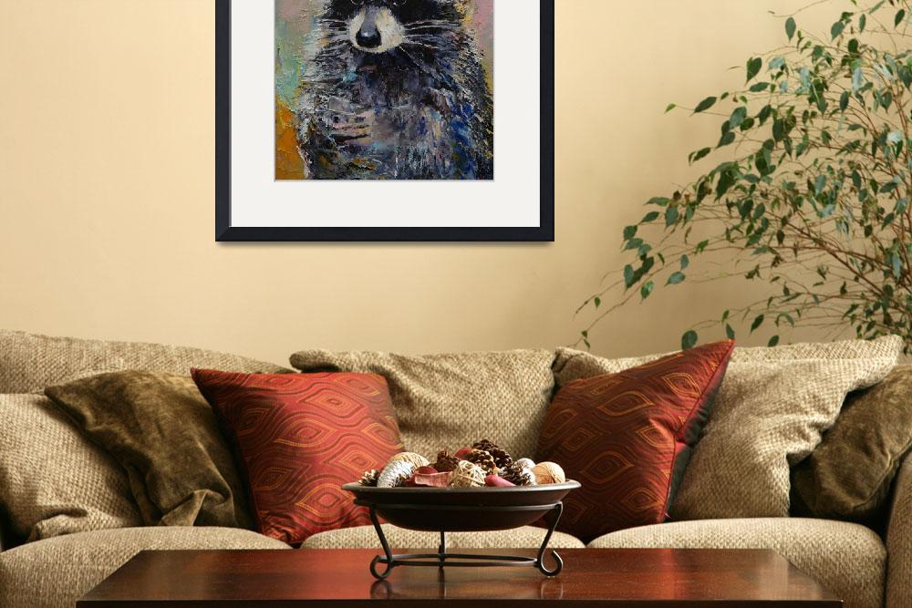 """""""Raccoon&quot  by creese"""