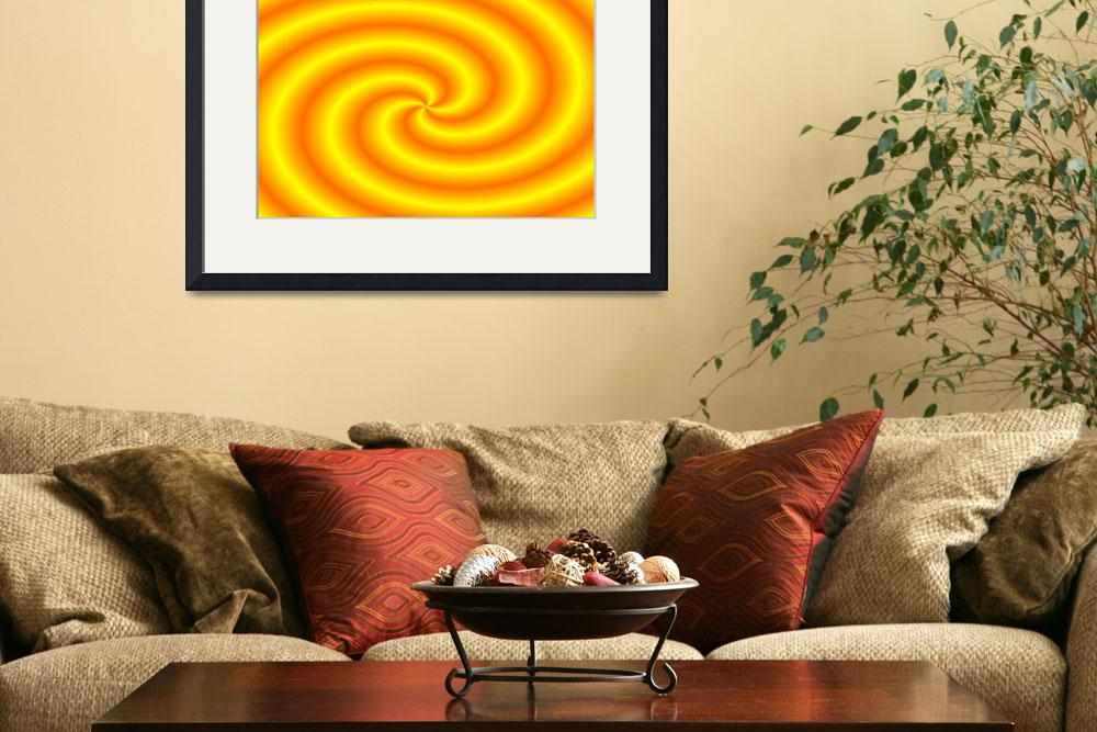 """""""Sun Swirl in the Fourth Dimension""""  by CulturalPerspective"""