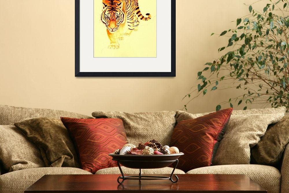 """""""Tiger Number 2&quot  (2005) by vigliotti"""