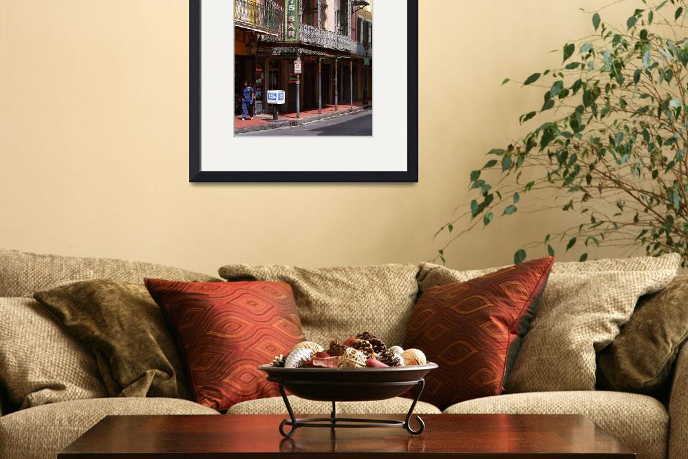 """New Orleans - Bourbon Street&quot  (2004) by Ffooter"
