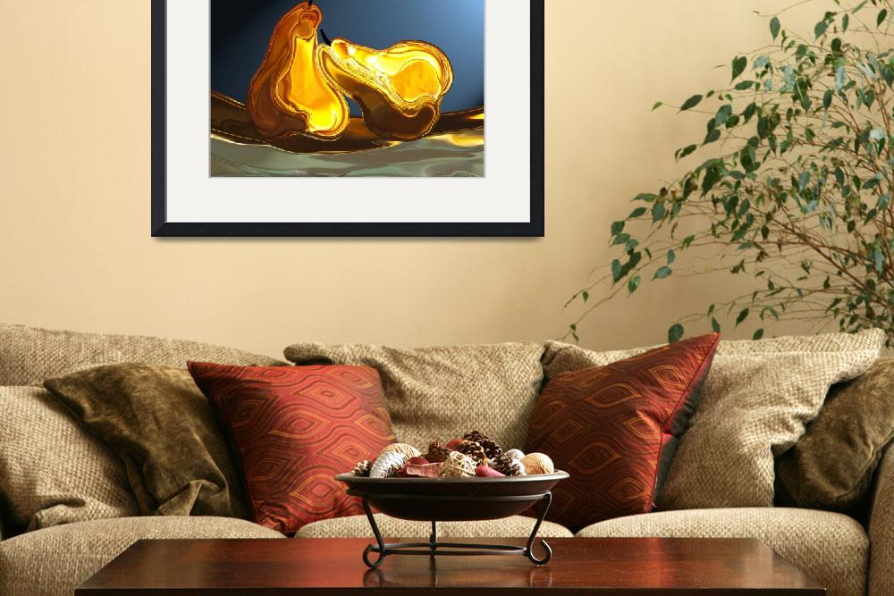 """""""Pears&quot  (2010) by halehmahbod"""
