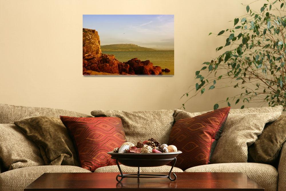 """""""View over Lough Foyle Ireland""""  (2009) by christophertierney"""