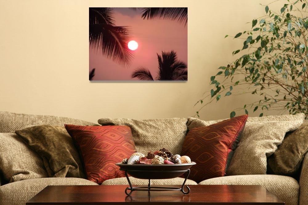 """Hawaiian Sunset""  (2012) by Cmninole"