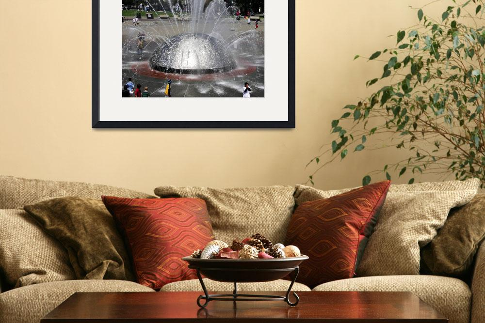 """""""Seattle Center Fountain&quot  by anthonyhuss"""