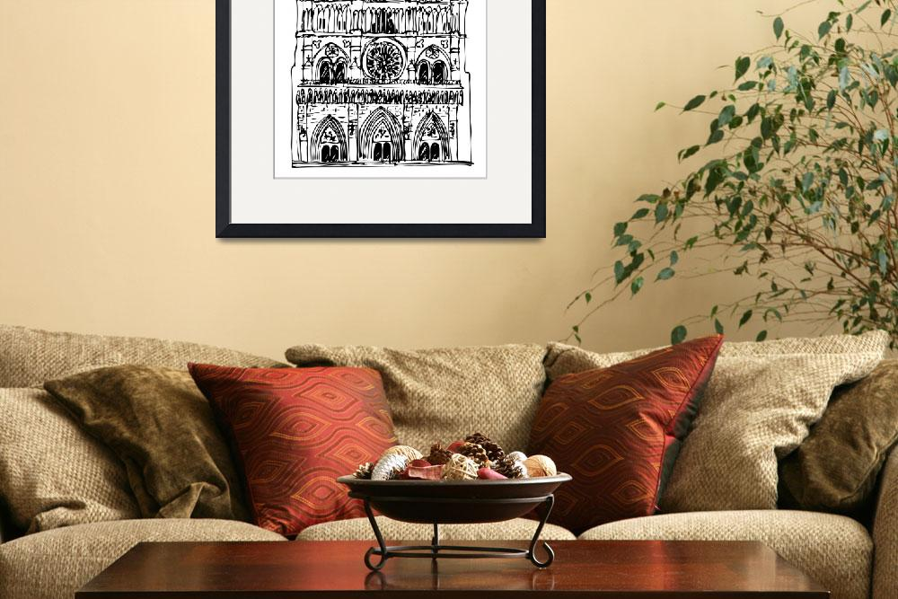 """""""basilica Notre Dame""""  (2011) by lamich"""