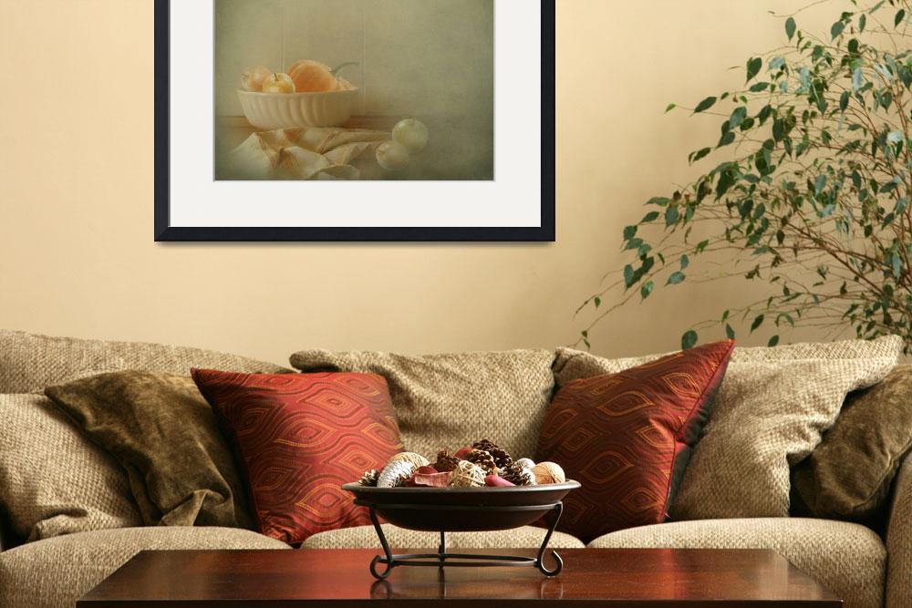 """""""Apples and Pumpkins still-life&quot  by aRTsKRATCHES"""