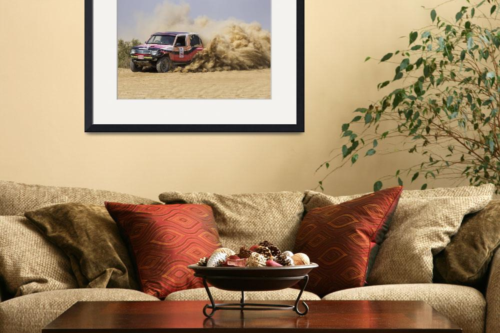 """""""4x4 Desert Rally Action&quot  by IsrarShah"""