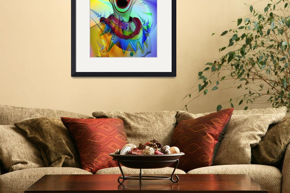 """""""Carnival clown&quot  (2008) by nomad"""