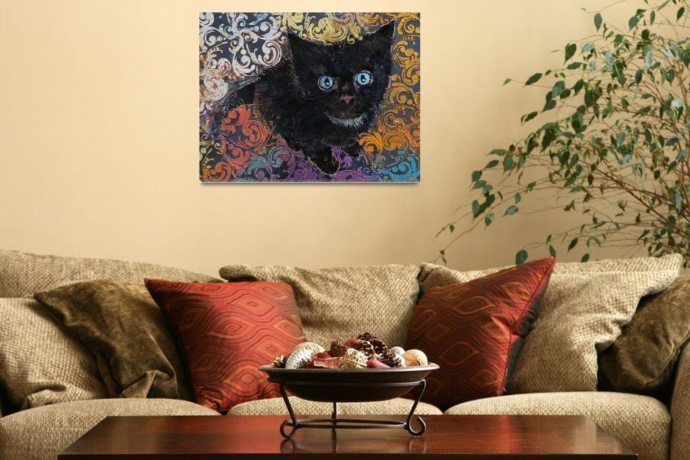 """Little Black Kitten&quot  by creese"