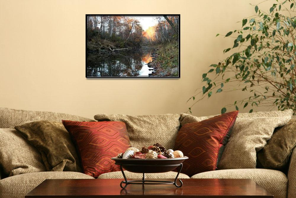 """""""River Reflections Ohio""""  by sherryswest"""