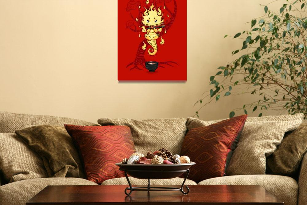 """""""Dragon Tea&quot  (2012) by freeminds"""