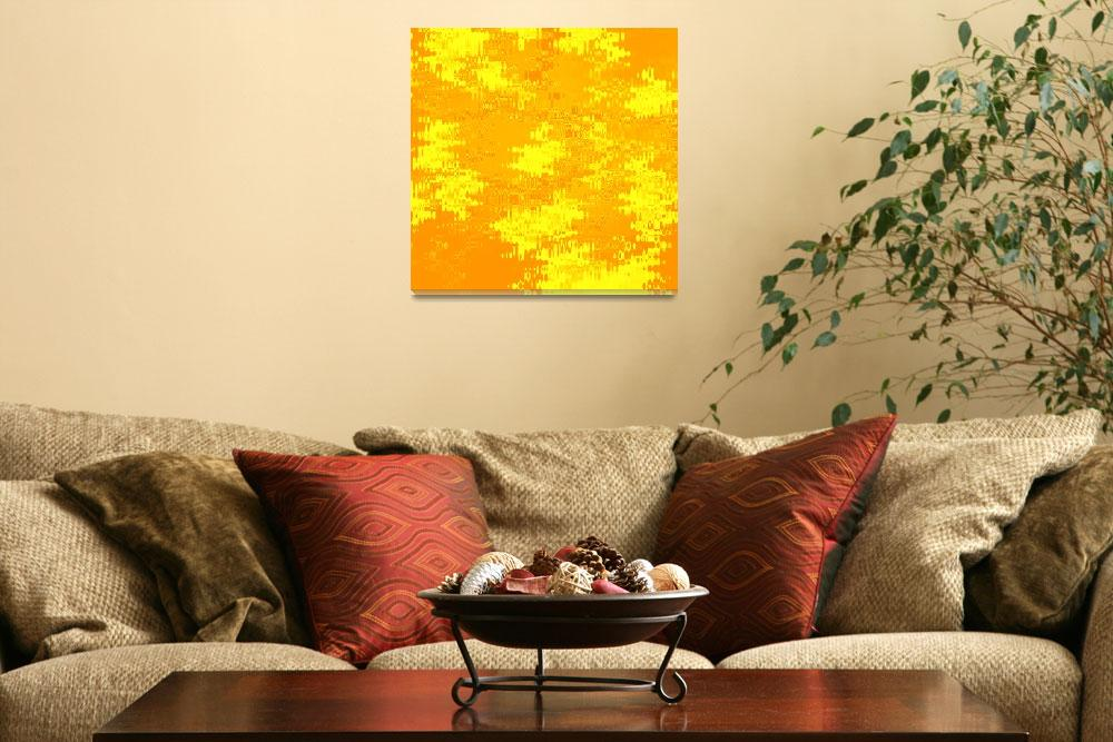 """""""Abstract Sunshine&quot  by Groecar"""