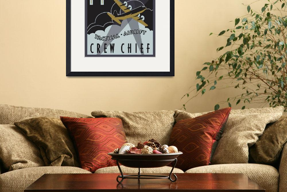 """""""Herk Deco - C-130J Crew Chief - Super Edition&quot  (2013) by mabrooks"""