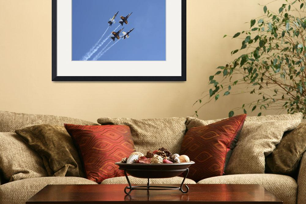 """""""Blue Angels&quot  by KLCPhotoMT"""
