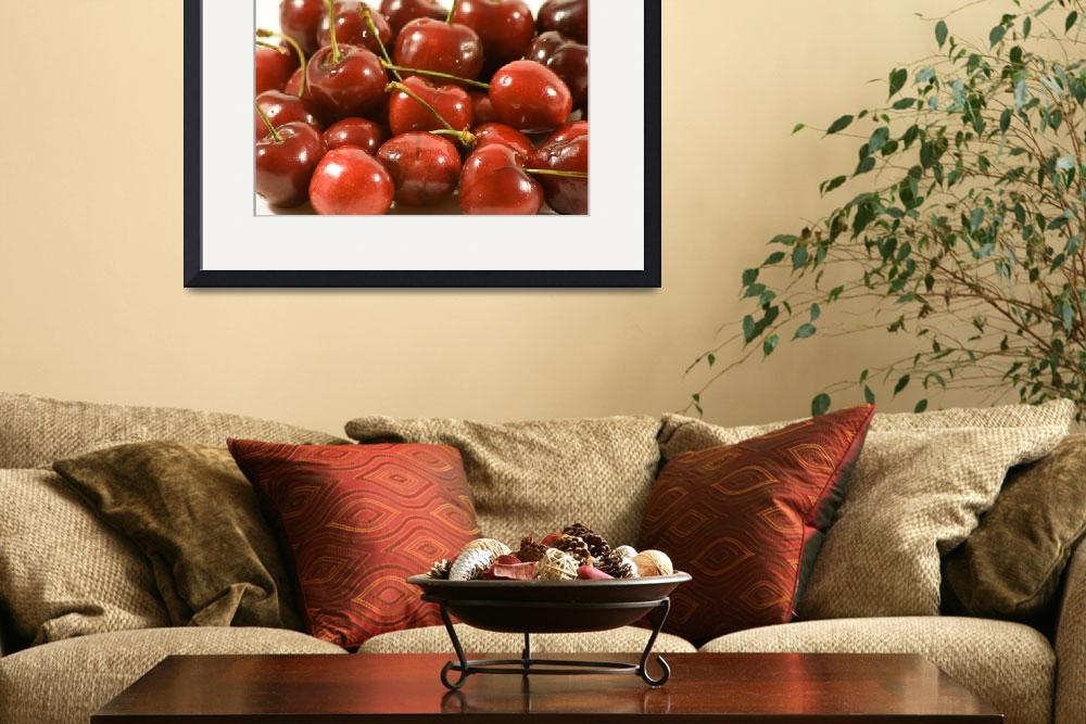 """""""Large Pile of Cherries&quot  by pqbon"""