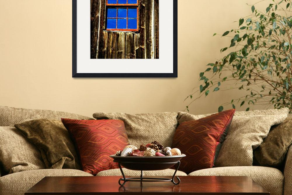 """Blue Window&quot  (2008) by bavosiphotoart"