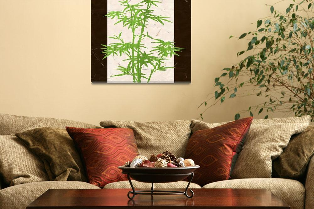 """""""Bamboo tree&quot  (2011) by nomi"""