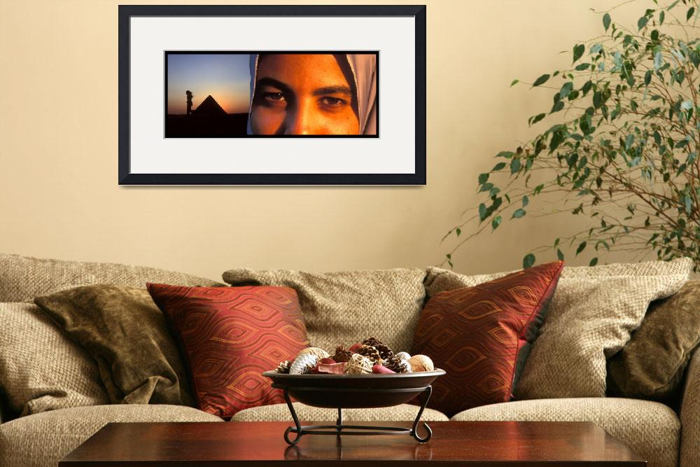 """""""Eyes of the World Luxor Egypt&quot  (2008) by ileneperlman"""