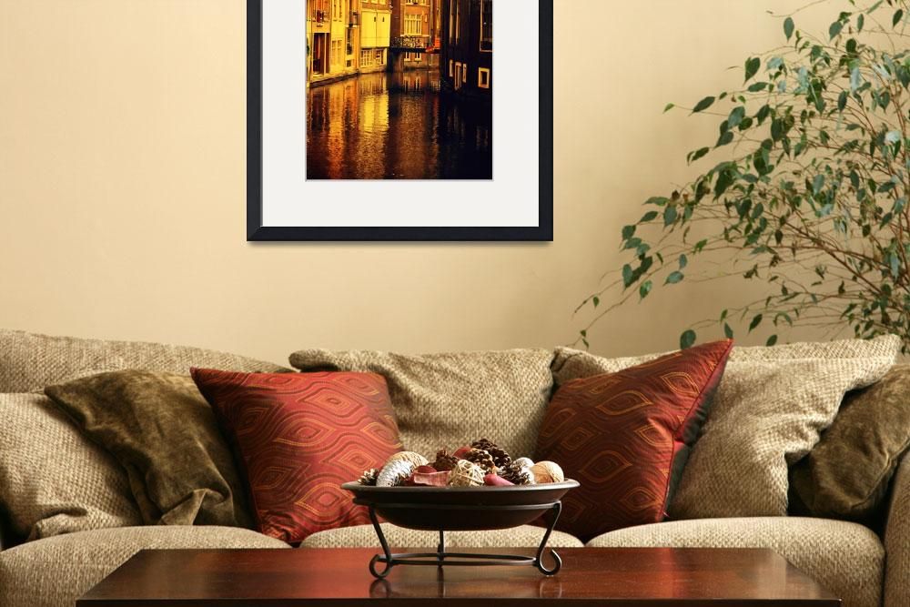 """""""Golden Hour Reflections in Amsterdam&quot  (2013) by JennyRainbow"""