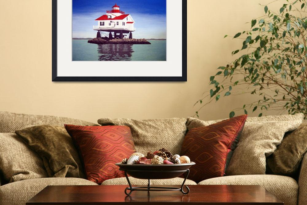 """""""Old Plantation Flats Lighthouse&quot  (2006) by FredericKohli"""