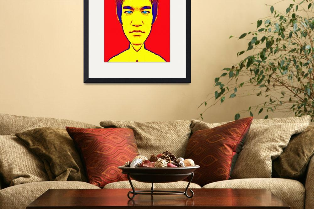 """Bruce Lee, alias&quot  (2013) by ArtCinemaGallery"
