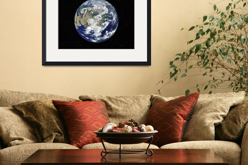 """""""Fully lit Earth centered on Asia&quot  by stocktrekimages"""