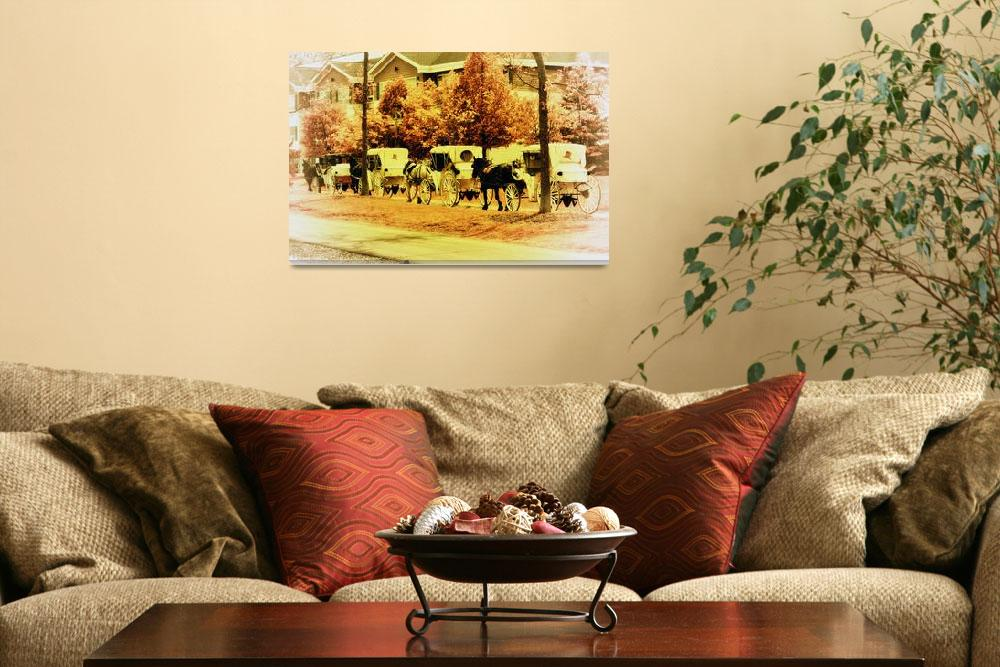 """""""Carriage Ride""""  (2015) by LJdesigns"""