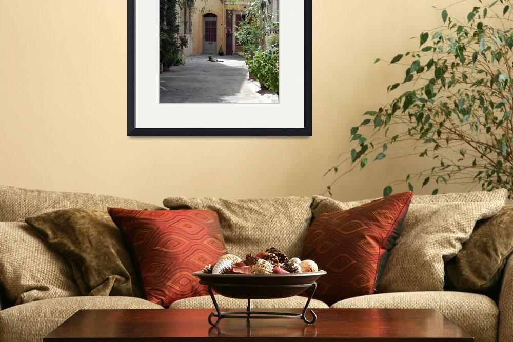 """""""Arles Provence France-8x10&quot  (2008) by LindaWolff"""