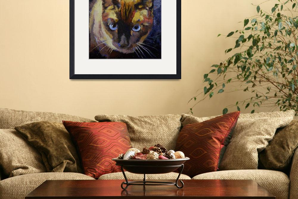 """""""Seal Point Siamese&quot  by creese"""
