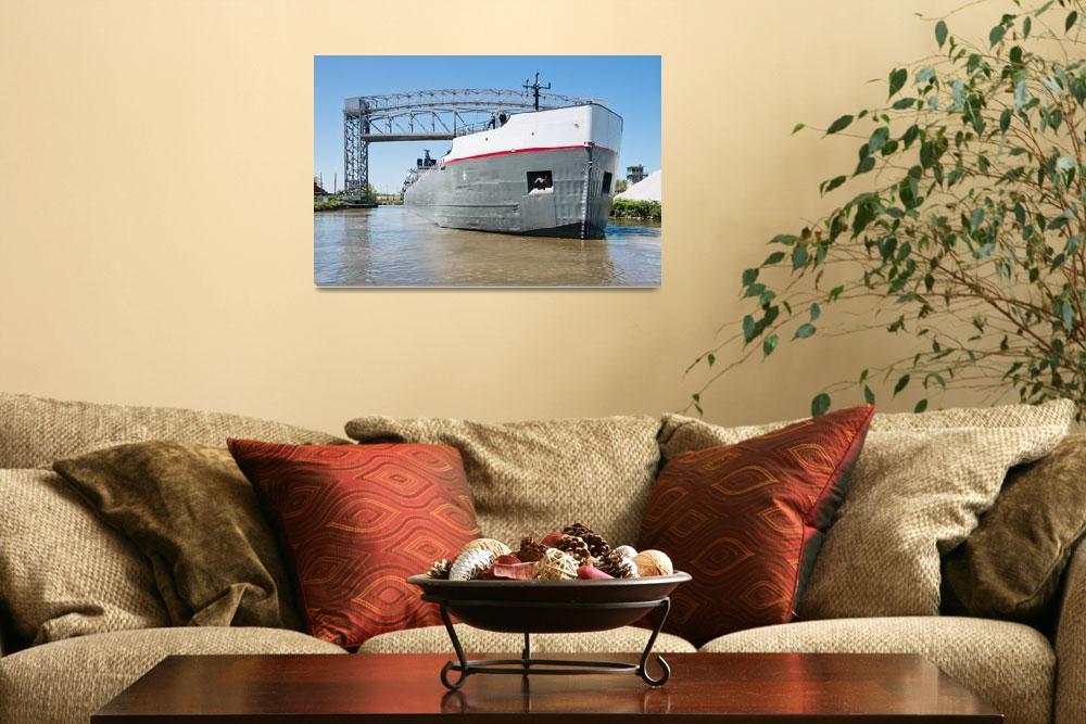 """Ship And Drawbridge&quot  (2012) by StonePhotos"