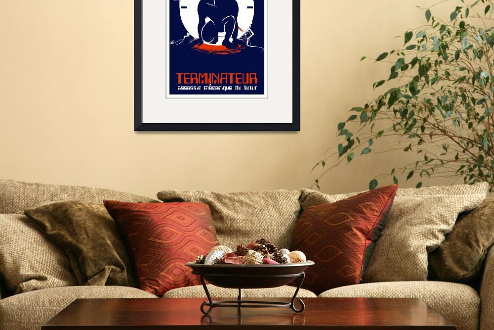 """""""TERMINATOR (french)""""  (2009) by TravisPitts"""