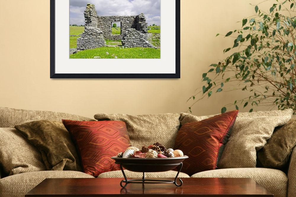 """""""Beam Engine House Remains at Magpie Mine, Sheldon&quot  (2011) by rodjohnson"""