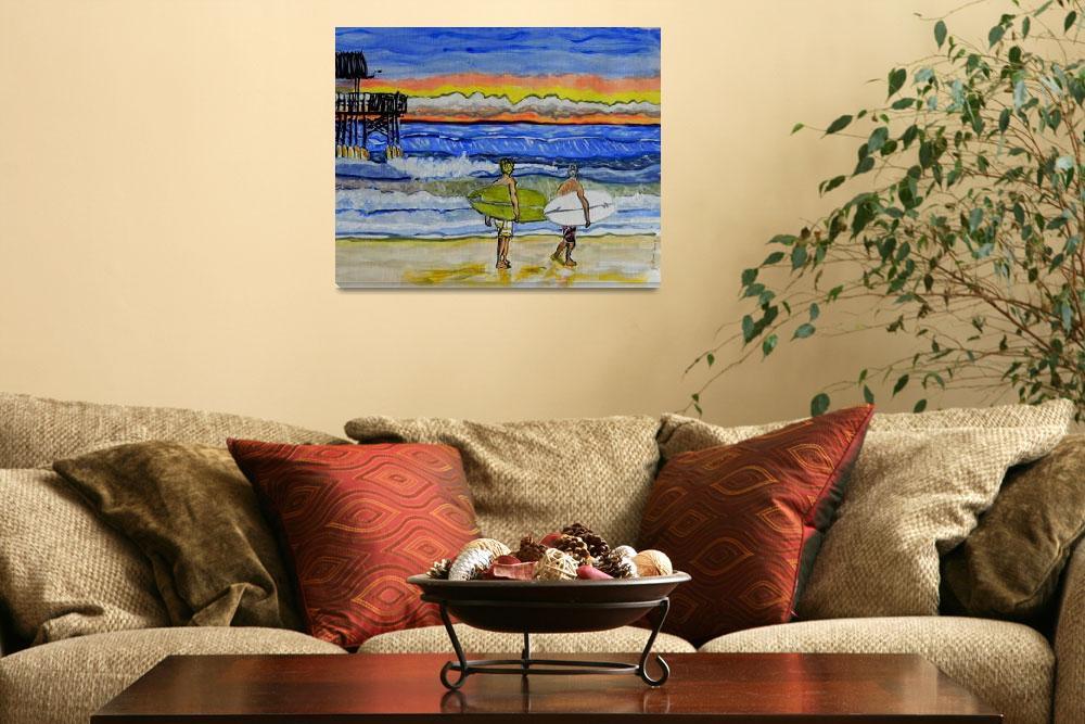 """surf art by wgilroy""  (2015) by wgilroy"