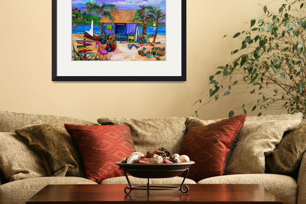 """""""Island Time&quot  (2010) by artbypatti"""