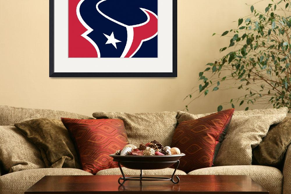 """Houston Texans""  (2013) by RubinoFineArt"