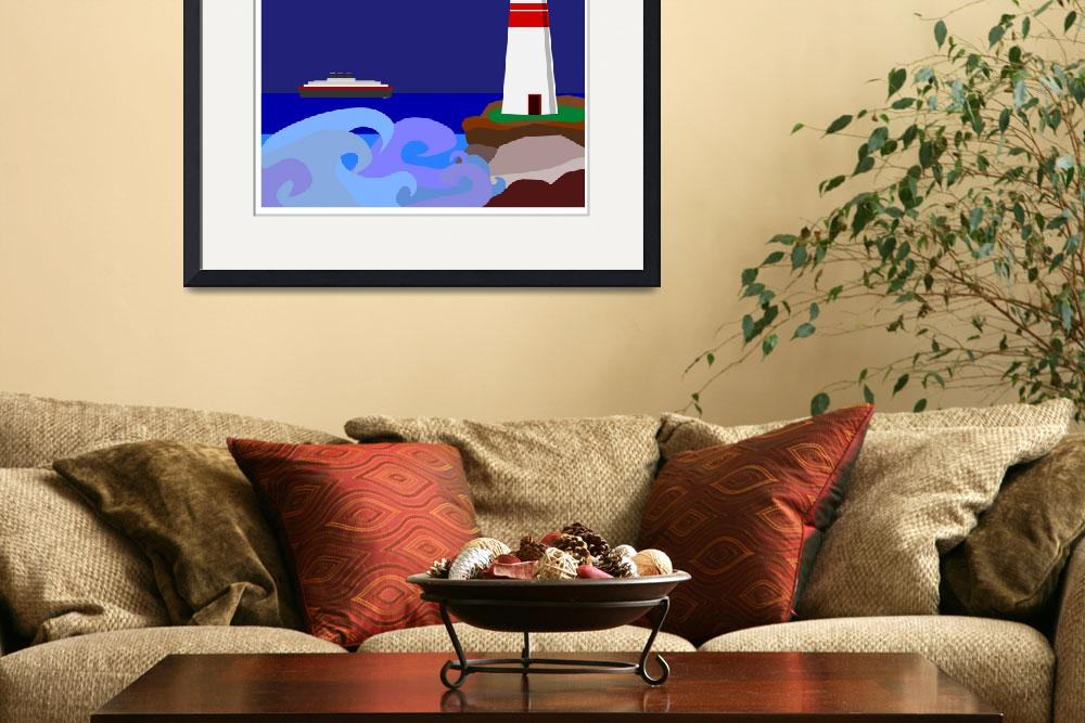 """""""Lighthouse Warning&quot  (2011) by debband"""