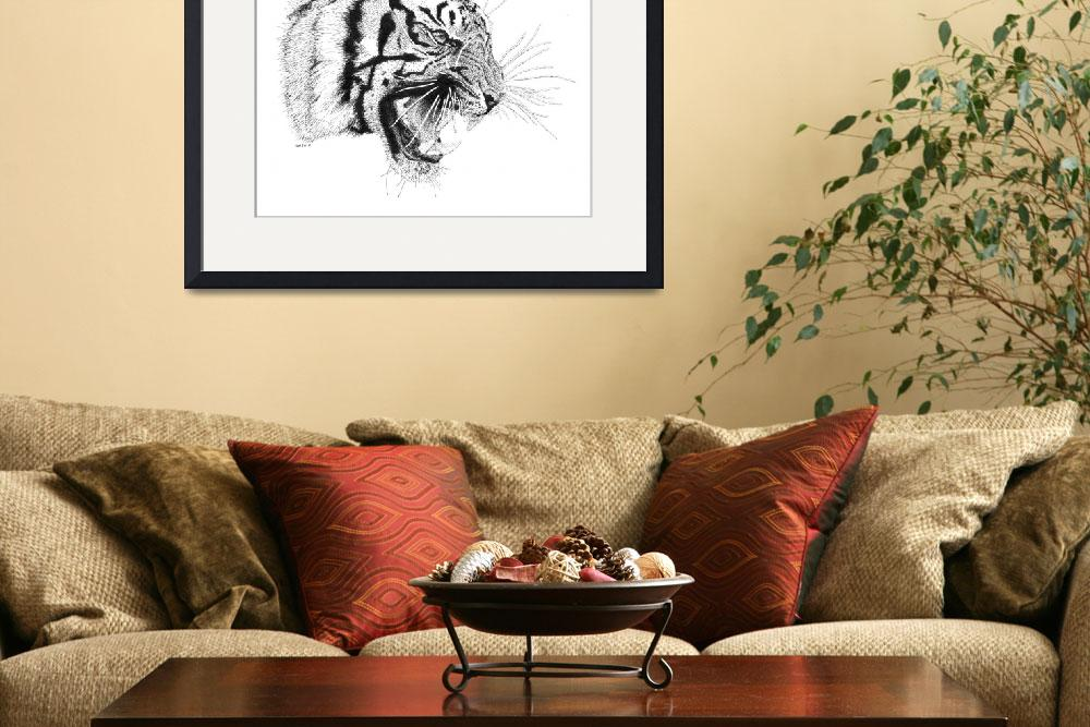 """""""Tiger&quot  (2010) by scottwoyak"""