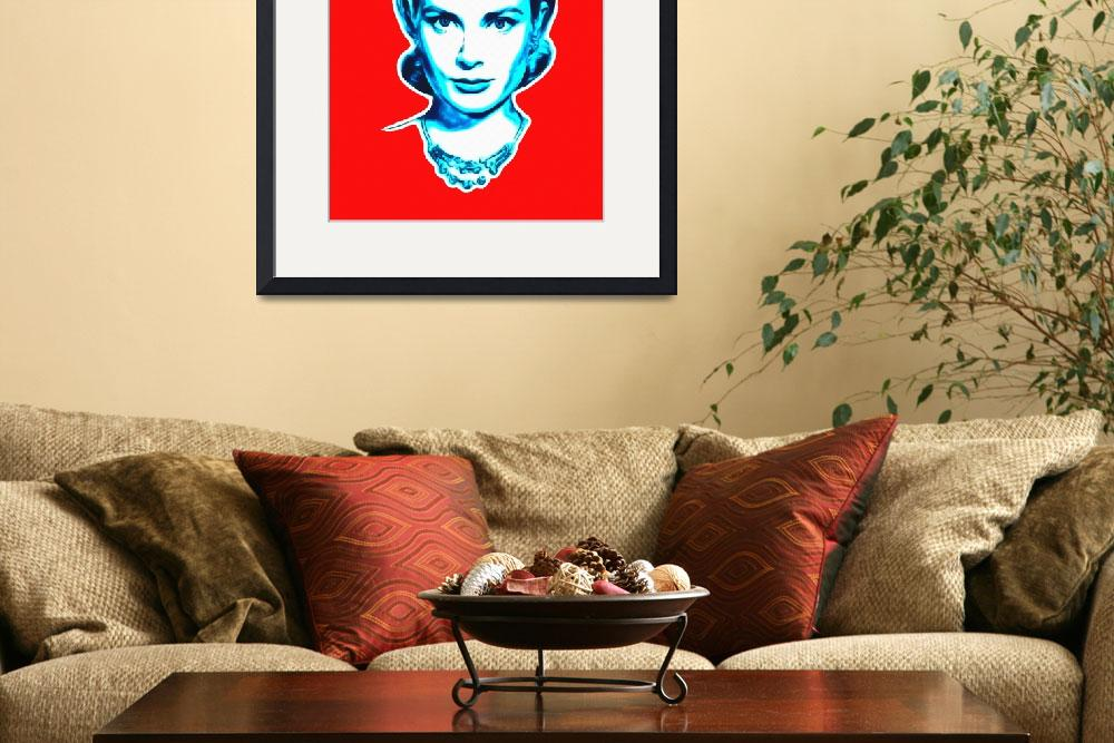 """Grace Kelly""  (2013) by ArtCinemaGallery"