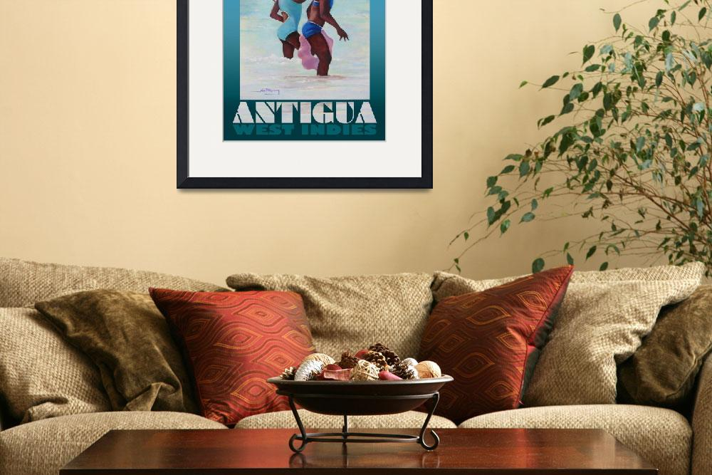 """""""Antigua Girls Poster""""  (2008) by jpomeroy3"""