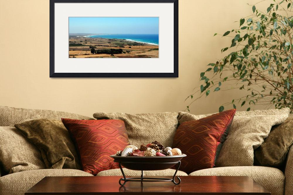 """""""Cyprian Coastline on the Way to Paphos""""  by Artsart"""