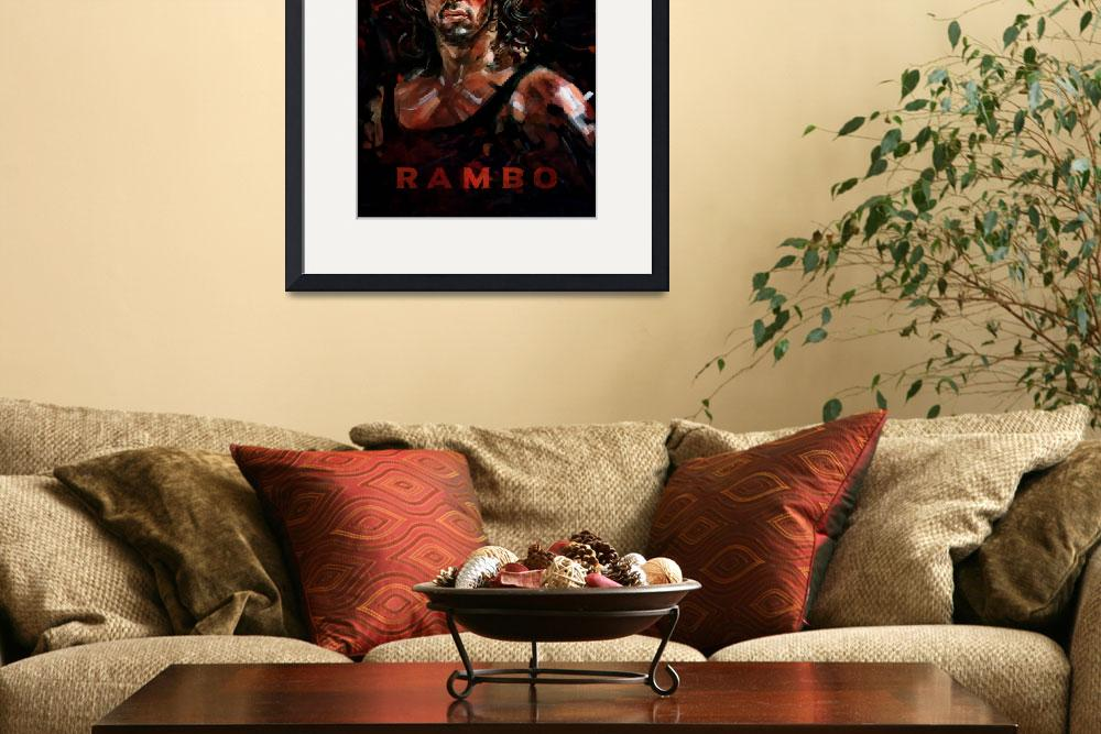 """""""Rambo&quot  by dmtry"""