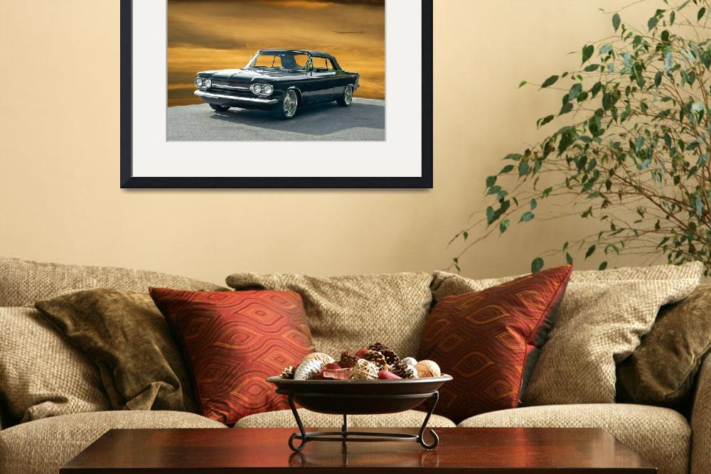 """""""1962 Corvair Corsa Convertible I&quot  by FatKatPhotography"""