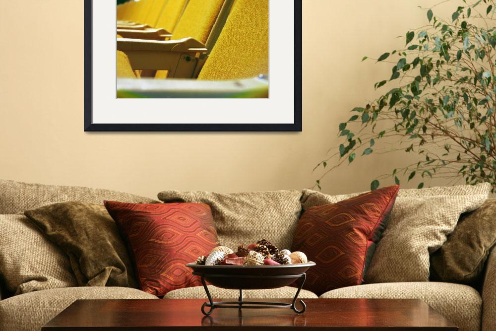 """""""Yellow Rows""""  (2009) by Kamera"""