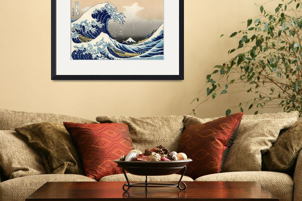 """The Great Wave Off Kanagawa&quot  by ArtLoversOnline"