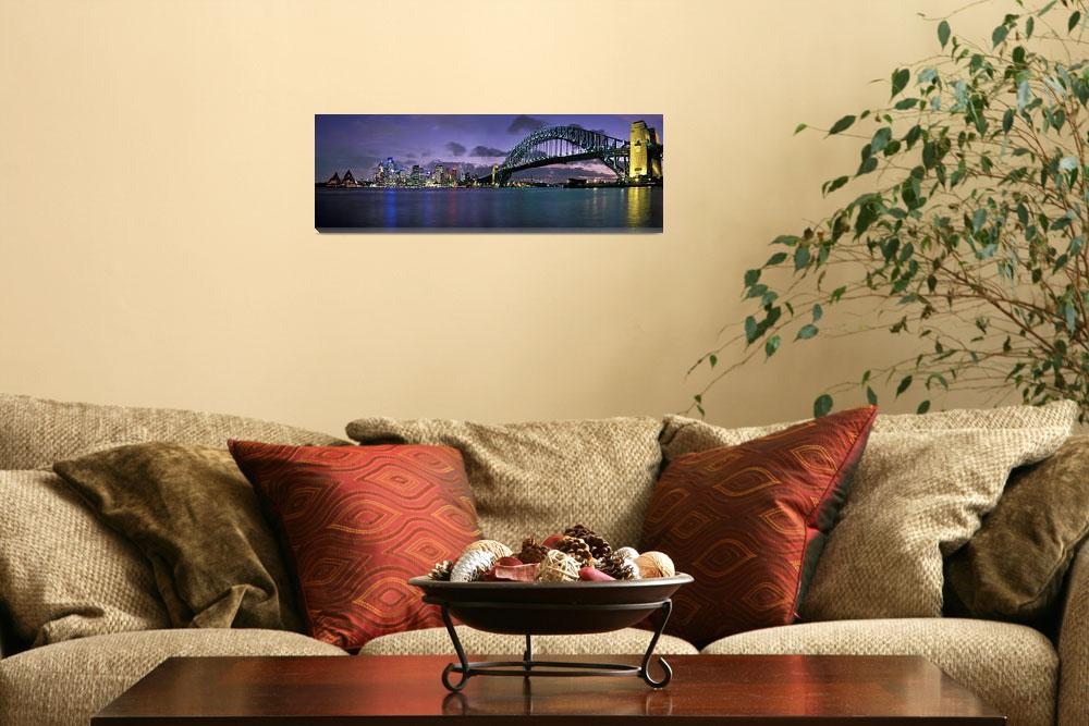 """""""Sydney Harbour Bridge&quot  by AdrianWarren"""