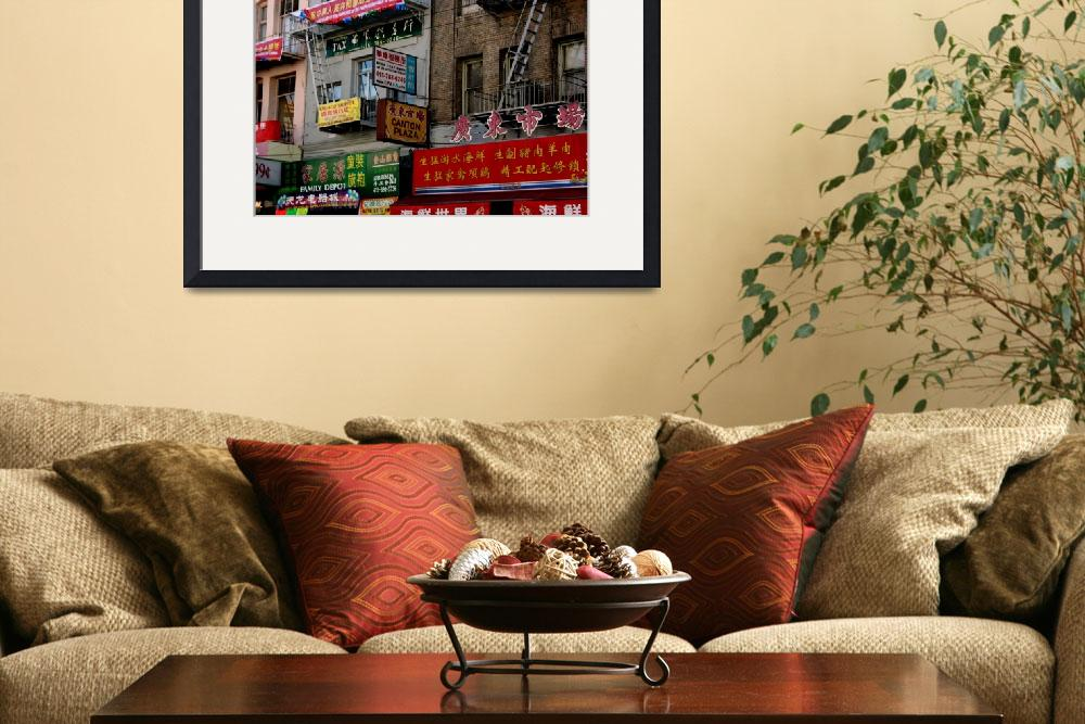 """""""Brightly painted Shop signs&quot  (2009) by JewelsOfDenile"""