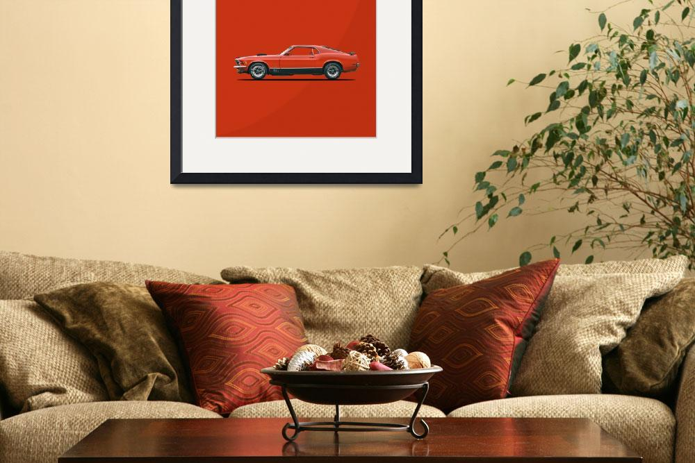 """""""The Mustang Mach 1""""  by mark-rogan"""