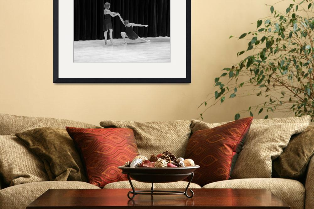 """""""Two Ballet Dancers, Three Stages, Folsom""""  (2010) by SederquistPhotography"""