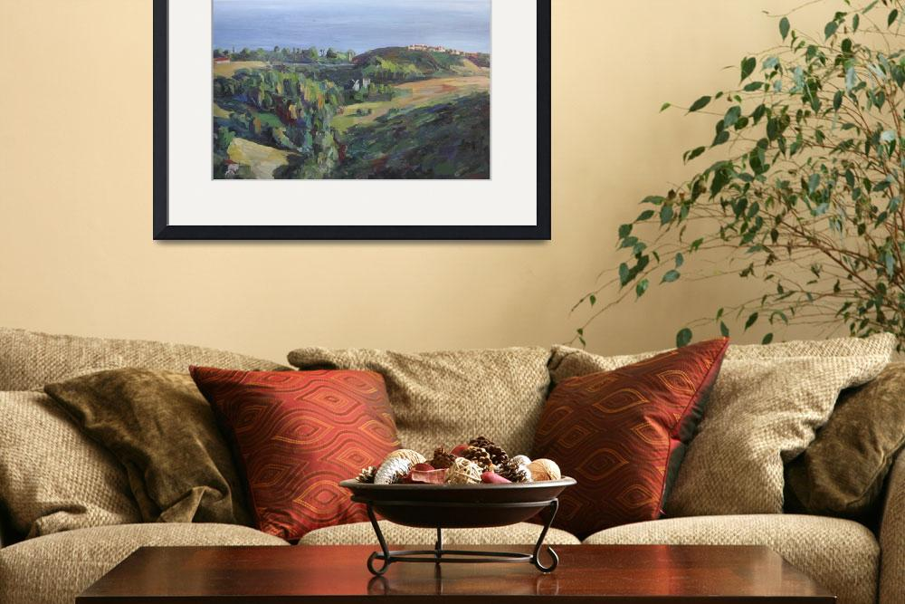 """""""Kanan Road View, Malibu&quot  (2013) by letspainttv"""