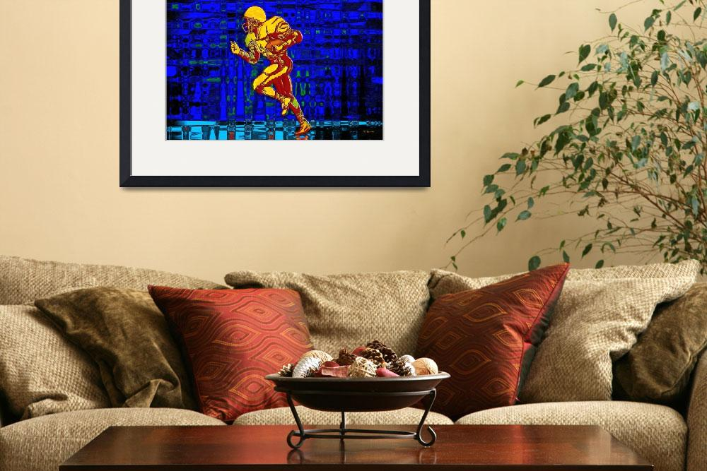 """""""Football 1""""  (2009) by Chicagoartist1"""